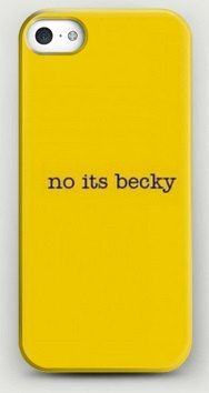 Taylor Swift 'No its becky' tumblr inspired phone case made for iphone 5/5s iphone 5c, iphone 4/4s, samsung galaxy s4 and samsung galaxy s3 by Thinkitmakeitsellit on Etsy https://www.etsy.com/listing/208193995/taylor-swift-no-its-becky-tumblr