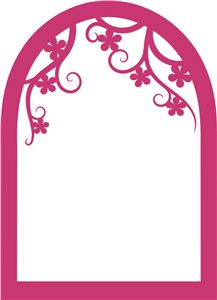 View Design: arched window frame
