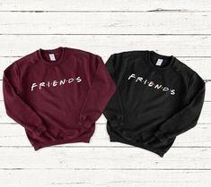 Friends tv show - Bestfriend Shirts - Ideas of Bestfriend Shirts - Friends tv show Best Friend Matching Shirts, Best Friend T Shirts, Bff Shirts, Best Friend Outfits, Cute Shirts, Funny Shirts, Friends Shirts, Friends Tv Show Shirt, Friends Sweatshirt