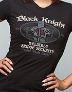 J!NX : Black Knight Bridge Security Women's Tee