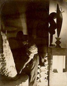 Constantin Brancusi, self portrait on ArtStack #constantin-brancusi #art
