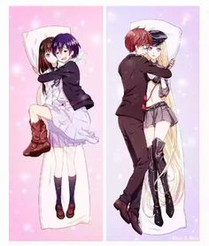 The body pillows xD (btw what da heck is yato wearing O_o)