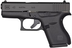 """Like all Glocks, it has no external thumb safety. The safety is built in the trigger via Glock's """"Safe Action"""" system and is released when pressure is applied to trigger.  Approximate price for a Glock 43 — $500 to $580  Source: Breitbart News"""