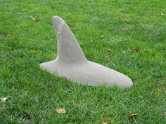 Land Shark via Marts Art on Etsy be fum to have on lawn when we flood irragate Lawn And Garden, Garden Art, Shark Bait, Backyard Paradise, Beach Gardens, Shark Week, Garden Ornaments, Crafts To Sell, The Great Outdoors