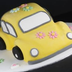 Gâteau 3D voiture coccinelle | Féerie cake