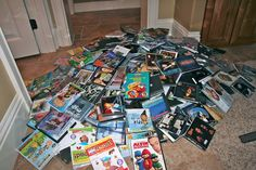 Smart and Simple Organizing: Media Storage! - A FANTASTIC way to organize DVDs {SST #15}