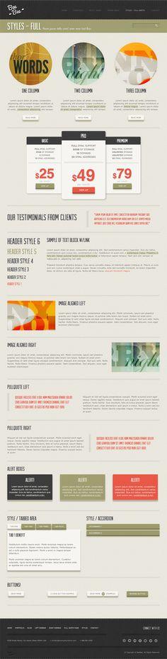 Bee Bee Premium WordPress Theme - ThemeForest Previewer