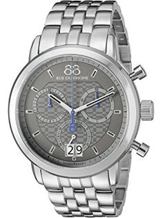 online shopping for 88 Rue du Rhone Men's Analog Display Swiss Quartz Two Tone Watch from top store. See new offer for 88 Rue du Rhone Men's Analog Display Swiss Quartz Two Tone Watch Swiss Luxury Watches, Luxury Watches For Men, Stainless Steel Bracelet, Stainless Steel Case, Cheap Watches For Men, Expensive Watches, Rhone, Digital Watch, Watch Bands