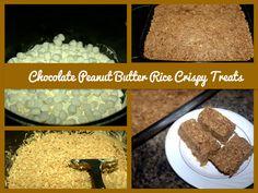 Chocolate Peanut Butter Rice Crispy Treats Three Awesome Rice Crispy Treats Recipes   With Chocolate!
