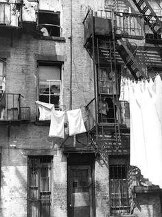 Bronx clothesline...clothes never smelled so good.