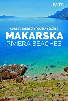 Discover the best beaches along Makarska Riviera, Croatia.