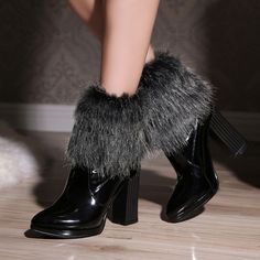 44.46$  Watch more here  - Winter Boots Winter Women Sexy Ankle Zapatos Mujer Chelsea Cowboy Military Tactical Colorful Com Salto High Heels Shoes T052