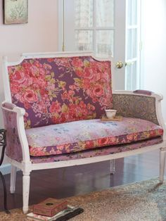 April Cornell FURNITURE! To die for (perhaps a bit overpriced but LOVE the fabrics, of course)