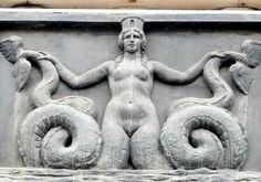 Image result for two tailed fish siren