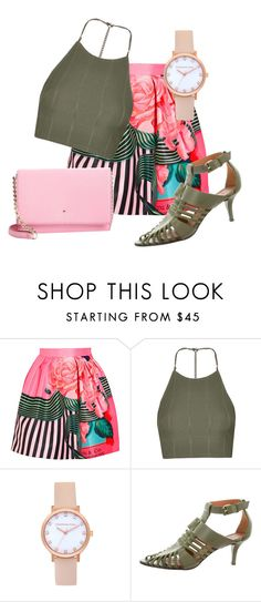 """""""Untitled #437"""" by evasia ❤ liked on Polyvore featuring Mary Katrantzou, Topshop, Givenchy and Kate Spade"""