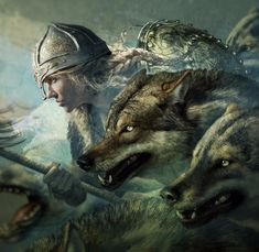 Strength and bravery of wolf . - Alexa P - Google+