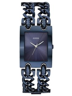 GUESS HEAVY METAL | W0073L3 Heavy Metal, Gucci Slides Women, Unusual Watches, Watch Faces, Square Watch, Women's Accessories, Gifts For Her, Clock, Quartz