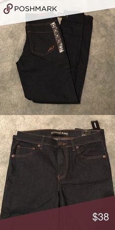 SALE!! ❤️ NWT Express legging high rise denim! These jeans are NWT high rise in a dark wash! Comment with any questions 🤗 price firm unless bundled Express Jeans Skinny