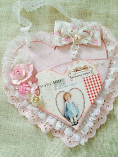 A personal favorite from my Etsy shop https://www.etsy.com/listing/210924064/valentines-heart-pouch-shabby-chic-heart