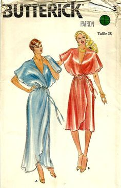 This is the pattern my mom made me for the Junior Girls Dance....in peach....Butterick 3546 seventies disco-dress