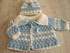 Mary Helen a háčkování Trico řemesla: dětské kabáty