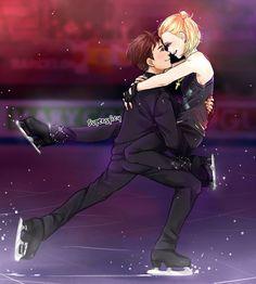 Yuri on ice- Yuri Plisetsky and Otabek Altin