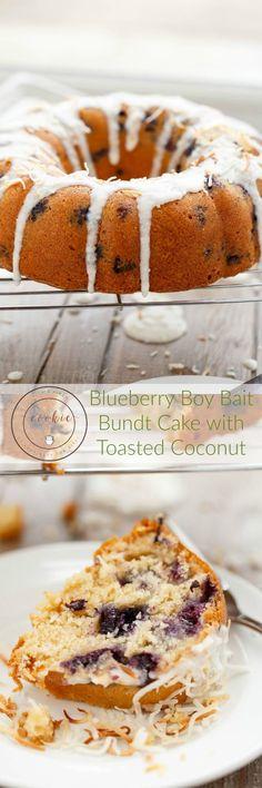 Blueberry Boy Bait Bundt Cake | http://thecookiewriter.com | @thecookiewriter | #cake