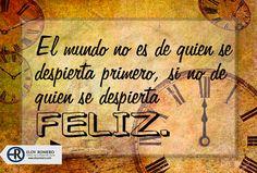 #BuenDía..!! Les mando un abrazo y que tengan un ESTUPENDO día..  #EloyRomero #SerFeliz