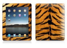 Ipads (with tiger skin cover!)