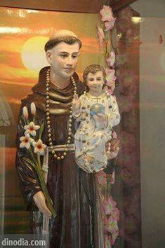 St Anthony of Padua Religious Images, Religious Icons, Catholic Art, Roman Catholic, Saint Anthony Of Padua, Evening Prayer, Prayers, Princess Zelda, Faith