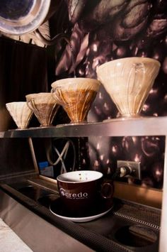 Credo (Edmonton) - coffee shop located a block away from Enterprise Square, the UAlberta downtown campus. Best Coffee Shop, Coffee Maker, Coffee Shops, Late Night Snacks, V60 Coffee, Mocha, Tea Time, Great Recipes, Food And Drink