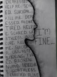 depressed depression sad suicidal suicide dark self harm cut cutter anorexia bulimia ednos anorexic sadness KNIFE bulimic blade slice Depression Art, Depression Quotes, Sad Drawings, Sad Sketches, Cool Drawings Tumblr, Sketchbook Drawings, What To Draw, Sketchbooks, Depressing Quotes