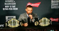 First time ever in the UFC Connor McGregor is a bad ass! Picture By: Snodgrass