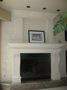 TV Over Fireplace | images of as well the built in but unconcealed ...