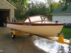 1961 Thompson_18 Lyman Boats, Chris Craft Boats, Boat Restoration, Runabout Boat, Boat Engine, Vintage Boats, Old Boats, Canoe And Kayak, Sport Fishing
