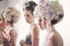 Marie Antoinette Fashions - Bryan Hearns' 18th-Century-Inspired Designs are Decadent