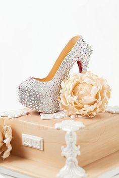 All sizes | Christian Louboutin Daffodile Pump Shoe Cake | Flickr - Photo…