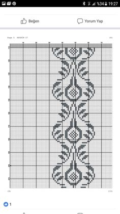 Graph Paper, Bargello, Cross Stitch Patterns, Diy And Crafts, Embroidery, Knitting, Crochet, Handmade, Cerberus
