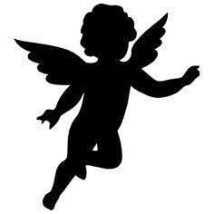 Make your car unique with our Cherub Angel Silhouette decals. This cherub angel silhouette sticker is a single color vinyl cut out that is very easy to apply and will last up to 5 years in both hot and cold climates. Engel Silhouette, Silhouette Art, Vintage Illustration, Stencil Printing, Angel Images, Stamp Making, Black And White Design, Vinyl Decals, Stencils
