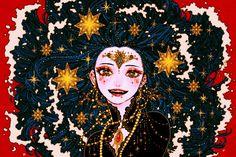 by seol hee ji. Kpop Drawings, Art Drawings, Character Art, Character Design, Witch Art, Anime Art Girl, Aesthetic Art, Cute Art, Art Pictures