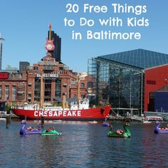 Over the years I have taken my kids to Baltimore many times, mostly to visit the National Aquarium or Maryland Science Center. But, like most other cities, there are an abundance of free activities to enjoy throughout the year. Take a look at 20 of my favorite free things to do with kids in the Baltimore area: 1. Shop at…