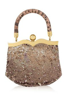 Gorgeous trendy handbags for inspiration Miu Miu's sequined lizard clutch Fossil´s vintage inspired bags Gorgeous gold vintage inspired clutch from Accessorize Beautiful little box from Warehouse New. Trendy Handbags, Fashion Handbags, Tote Handbags, Purses And Handbags, Fashion Bags, Miu Miu Clutch, Clutch Bag, Vintage Purses, Vintage Handbags