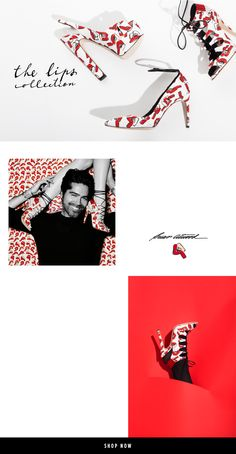 Brian Atwood the lips collection by Donald Robertson