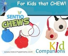 """Thanks Mike, """"I've passed your site around to all the parents of special needs children I know. Awesome product!"""" Buy KidCompanions #Chewelry and SentioCHEWS online: www.kidcompanions.com ..."""