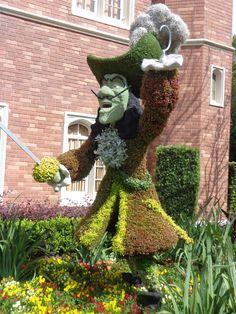 Epcot Flower & Garden 2016 Topiary