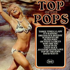 Top of the Pops Compilation LP's Vinyl Albums Records Lp Cover, Vinyl Cover, Lps, Nostalgic Music, 1970s Music, Pop Albums, Cool Album Covers, Pochette Album, Pop Hits