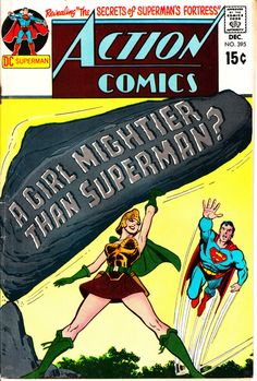 Action Comics 1938 DC 395 December 1970 Issue DC by ViewObscura