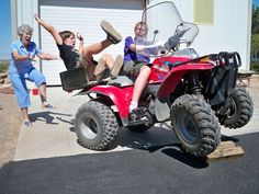 The perfectly timed ATV fall photo: | The 27 Most Perfectly Timed Photos Of The Year