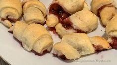 La Fatina in Cucina-Croissants alla marmellata #LaFatinaInCucina #recipes #dolci #croissant #cookingtime