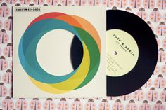 Record/LP Wedding Invitations by Ello There
